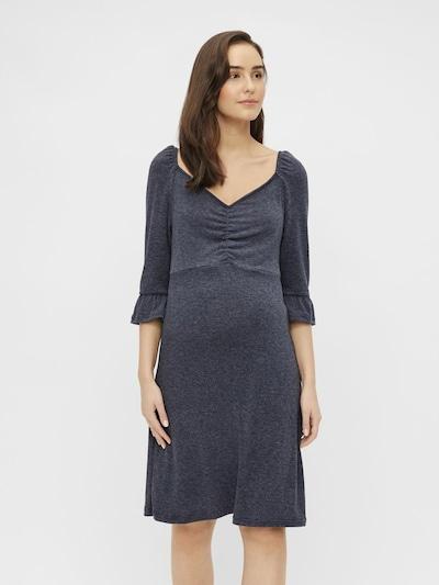 MAMALICIOUS Kleid 'MLTINNA' in rauchgrau, Modelansicht