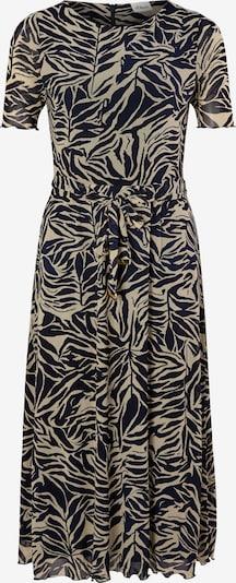 s.Oliver BLACK LABEL Kleid in hellbeige / schwarz, Produktansicht