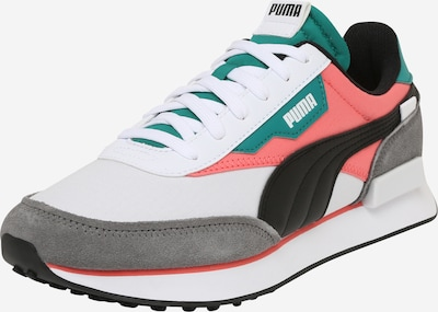 PUMA Sneakers low 'Rider Play On' in Dark grey / Petrol / Coral / Black / White, Item view
