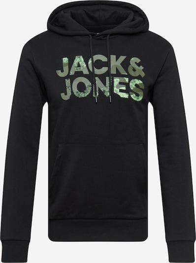 JACK & JONES Μπλούζα φούτερ σε πράσινο / χακί / λαδί / μαύρο, Άποψη προϊόντος