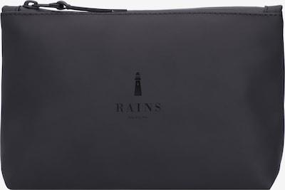 RAINS Kosmetiktasche in dunkelgrau / schwarz, Produktansicht