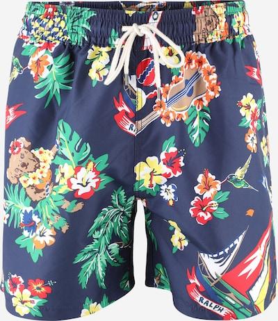 POLO RALPH LAUREN Kupaće hlače 'TRAVELER' u noćno plava / miks boja, Pregled proizvoda