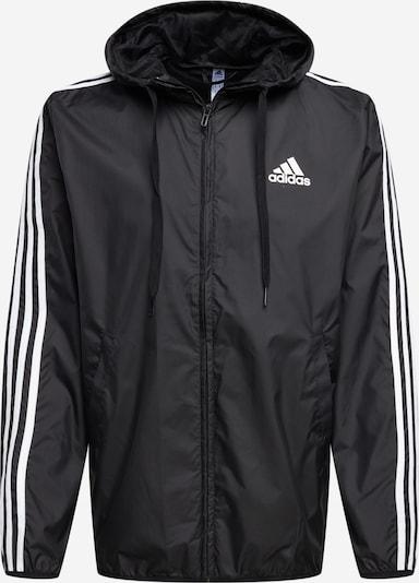 ADIDAS PERFORMANCE Sportjacke in schwarz / weiß, Produktansicht