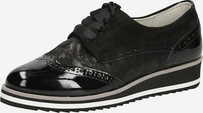 CAPRICE Schnürschuh in schwarz, Produktansicht