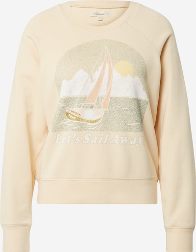Madewell Sweatshirt 'Let's Sail Away Shrunken' i beige / blandade färger, Produktvy