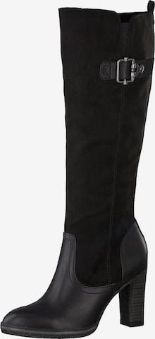 s.Oliver Boot in Black