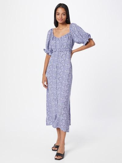 NU-IN Kleid in lila / flieder / schwarz, Modelansicht