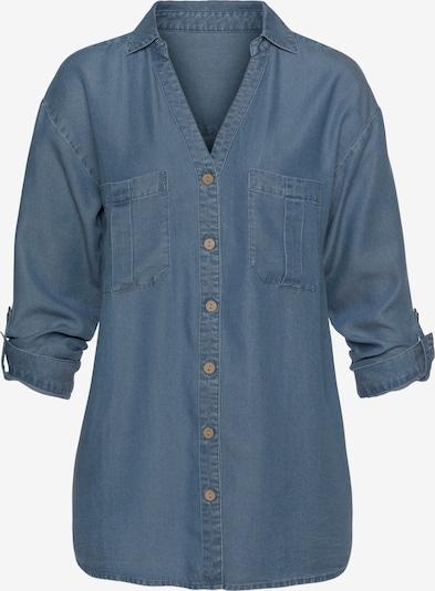 Bluză LASCANA pe albastru denim, Vizualizare produs