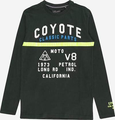 Petrol Industries Shirt in de kleur Blauw / Geel / Donkergroen / Wit, Productweergave