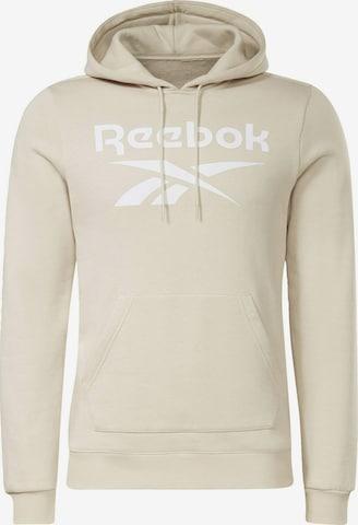 Sweat-shirt Reebok Sport en beige