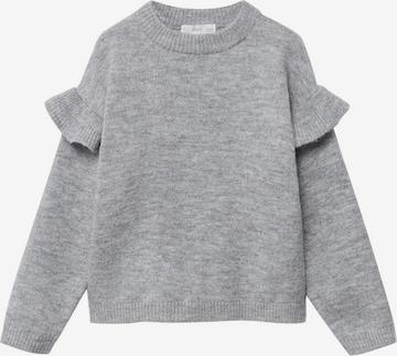 Pull-over 'Trufa' MANGO KIDS en gris