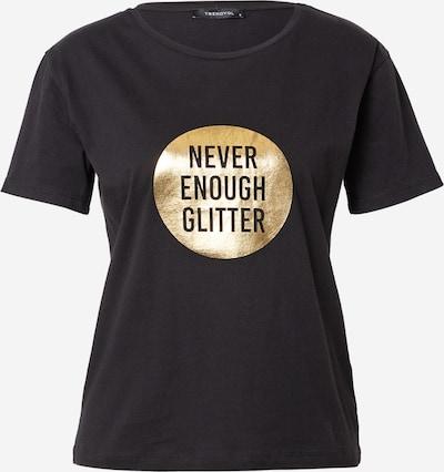 Trendyol Shirt in de kleur Goud / Zwart, Productweergave