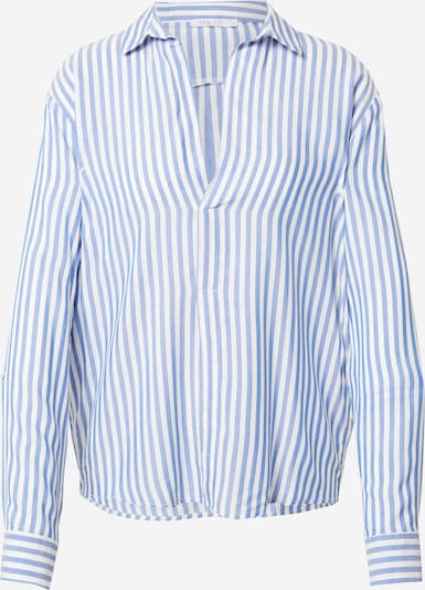 Hailys Bluse 'Anetta' in hellblau / weiß, Produktansicht