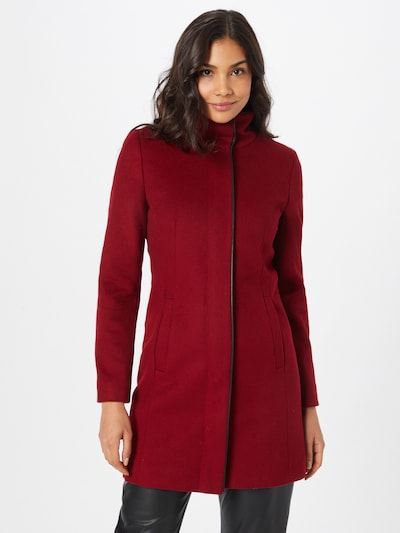 HUGO Between-Seasons Coat 'Malura' in Carmine red / Black, View model
