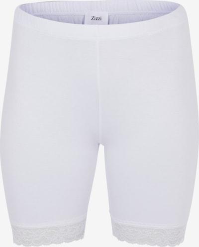 Zizzi Sportshorts in weiß, Produktansicht