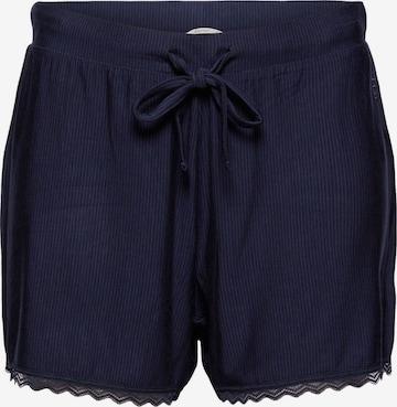 ESPRIT Pajama Pants in Blue