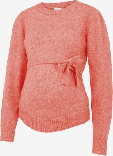 MAMALICIOUS Pullover 'Savannah' in melone, Produktansicht