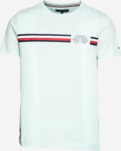 TOMMY HILFIGER Shirt in de kleur Nachtblauw / Azuur / Rood / Wit: Vooraanzicht