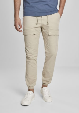 Urban Classics Cargo trousers in Beige
