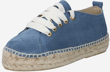 JUTELAUNE Lace-Up Shoes in Blue