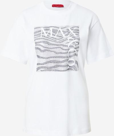 Tricou 'TEEREX 1' MAX&Co. pe negru / argintiu / alb murdar, Vizualizare produs