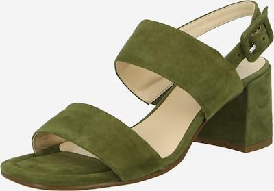 Högl Zapatos destalonado en caqui, Vista del producto