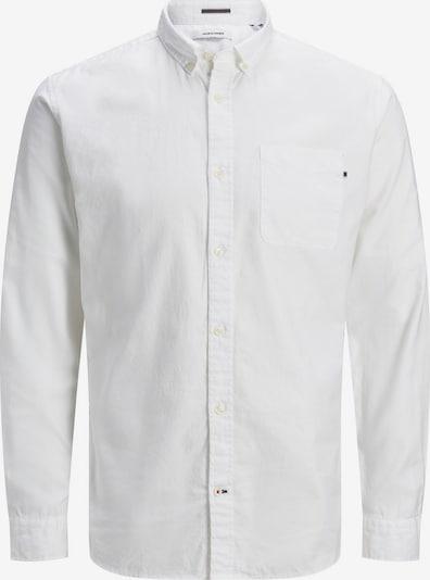 JACK & JONES Camisa 'Oxford' en blanco, Vista del producto