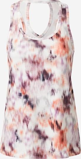 Marika Top sportowy w kolorze fioletowy / różany / białym, Podgląd produktu