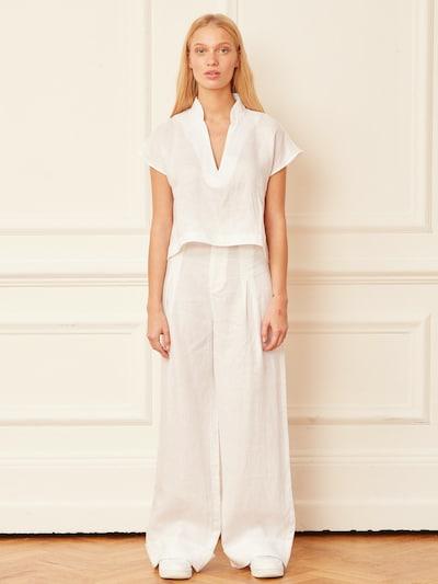 Aligne Hose 'Cat' in weiß, Modelansicht