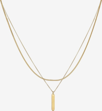 ELLI Halskette Geo, Layer in gold, Produktansicht