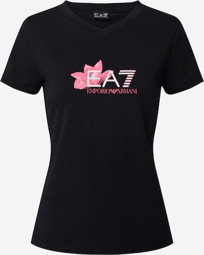 EA7 Emporio Armani T-Shirt in pink / schwarz / weiß, Produktansicht