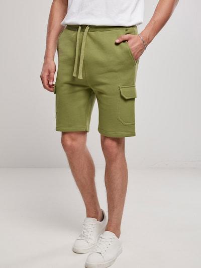 Urban Classics Pantalon cargo en olive, Vue avec modèle