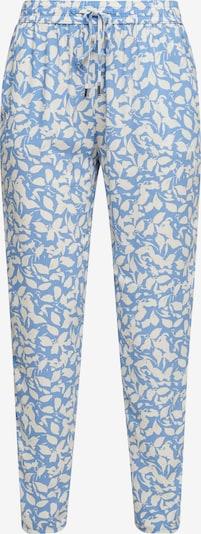 s.Oliver Pantalon chino en bleu / blanc, Vue avec produit