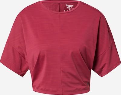 Reebok Sport T-Shirt in dunkelpink, Produktansicht