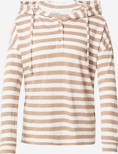 Marc O'Polo DENIM T-Shirt in hellbraun / weiß, Produktansicht