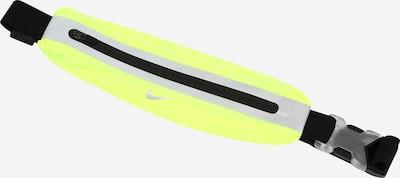 NIKE Accessoires Sportska pojasna torbica u neonsko zelena / crna / srebro, Pregled proizvoda