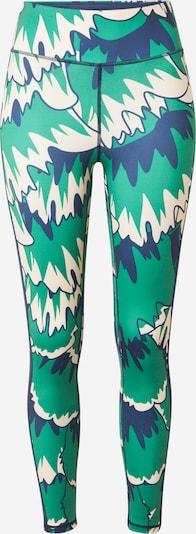 DELICATELOVE Workout Pants 'NADI' in Dark blue / Jade / White, Item view