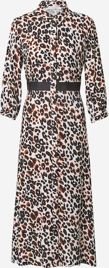 Calvin Klein Kleid in braun / schwarz / weiß, Produktansicht