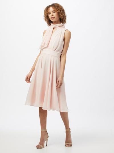 SWING Kokteilové šaty - ružová: Pohľad spredu