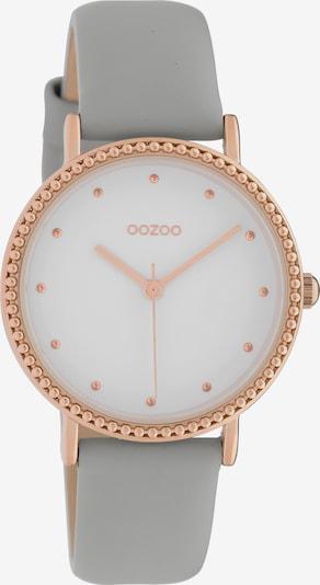 OOZOO Uhr 'C10420' in gold / grau, Produktansicht