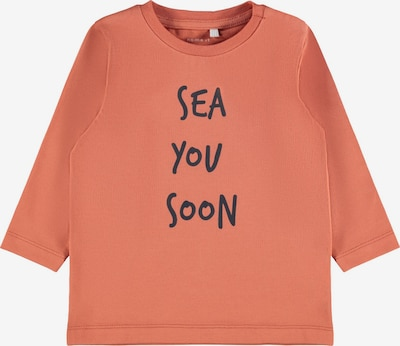 NAME IT Majica 'Fomin' u pastelno crvena / crna, Pregled proizvoda