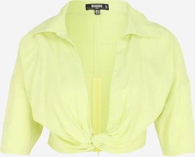 Missguided Tall Blouse in Neon green, Item view