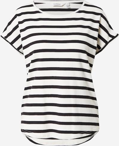 b.young T-shirt en noir / blanc, Vue avec produit