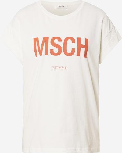 MOSS COPENHAGEN T-Shirt 'Alva' in orange / weiß, Produktansicht
