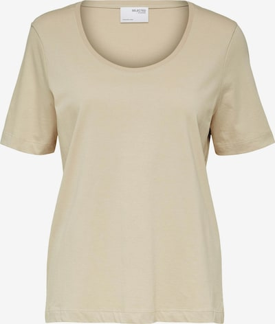 SELECTED FEMME T-Shirt in sand, Produktansicht