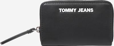 Tommy Jeans Portemonnaie in schwarz / silber: Frontalansicht