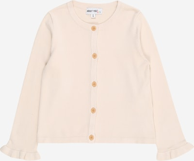ABOUT YOU Cardigan 'Nola' in creme / beere, Produktansicht