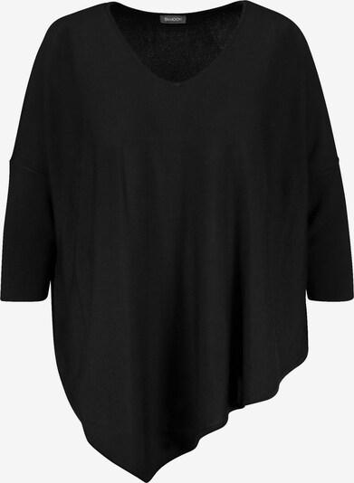 SAMOON Oversize-Pullover in schwarz, Produktansicht