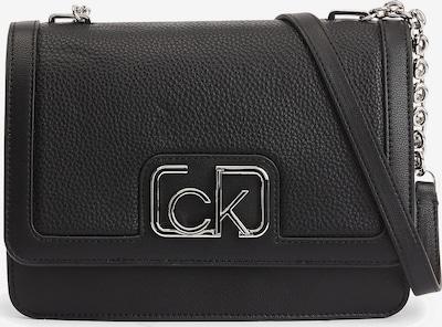 Calvin Klein Umhängetasche in schwarz / silber, Produktansicht