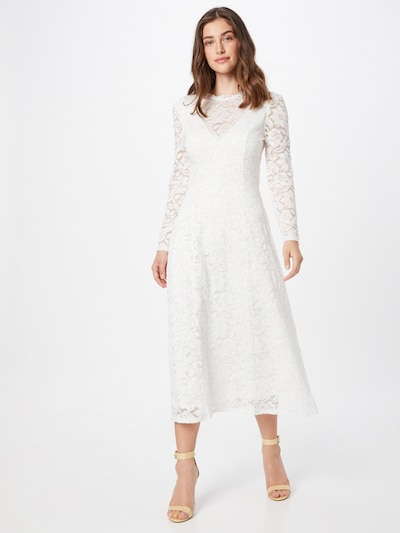 Skirt & Stiletto Kleid 'Evalina' in weiß, Modelansicht